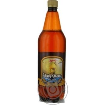 Пиво 1л світле Янтар Адміральське пет