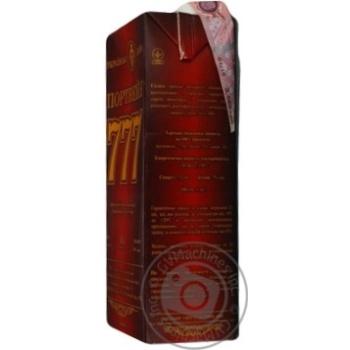 Вино Крымские Вина Портвейн 777 красное крепкое 17.5% 1л - купить, цены на Ашан - фото 5