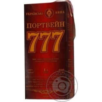 Вино Крымские Вина Портвейн 777 красное крепкое 17.5% 1л - купить, цены на Ашан - фото 4