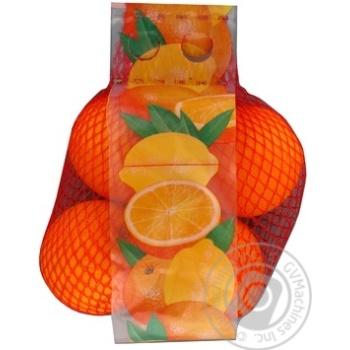 Апельсин сетка 1кг - купить, цены на Ашан - фото 1