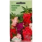 Насіння Квіти Бальзамін Камелія махрова Елітсортнасіння суміш 0,5г