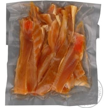Fish salmon Flagman light-salted 150g vacuum packing