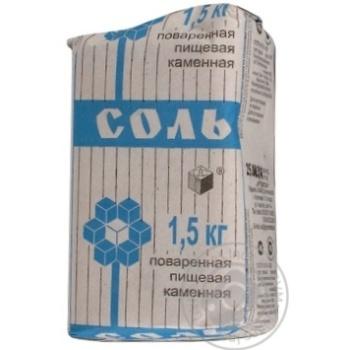 Сіль кам'яна Артемсіль кухонна 1.5кг - купити, ціни на Novus - фото 4