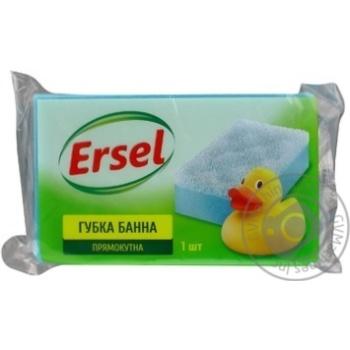 Губки банная Ersel 1шт