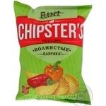 Чіпси хвилясті паприка Flint Chipster's 120г