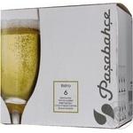 Келих для шампанського Pasabahce Bistro 6шт 190мл