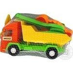 Tyhres Toy Mini Truck with Set to sand 5 Elements