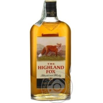 Настойка The Highland Fox Blended 100% Whiskey 0,5л