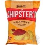 Чіпси хвилясті телятина з аджикою Flint Chipster's 120г