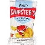 Чипсы Flint Chipster's картофельные волнистые Краб 70г Украина