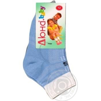Носки Дюна голубые размер 12 6В431