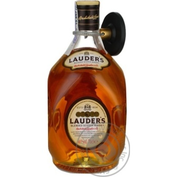 Lauder's Whiskey 40% 0.7l - buy, prices for Auchan - photo 1