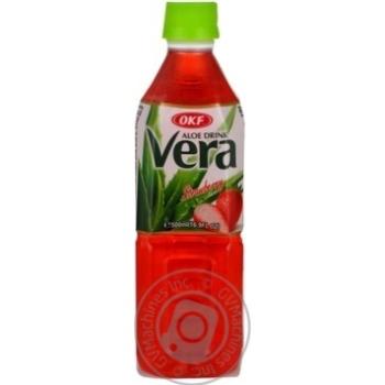 Напій негаз Aloe Vera Полуниця OKF 0,5л