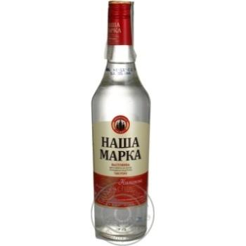 Настойка Наша Марка Калиновая 35% 0,5л - купить, цены на Novus - фото 1