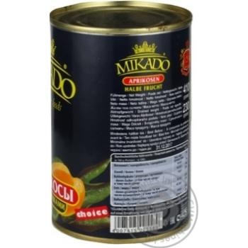 Абрикос половинки в сиропі Мікадо 410г - купить, цены на Novus - фото 2