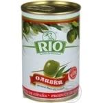 Оливки зелені Rio без кісточки 300мл