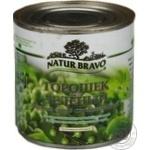 Vegetables pea Natur bravo Private import sterilized 425ml