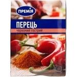 Перец Премія красный острый 20г