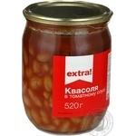 Фасоль Extra! Вкусная в томатном соусе 520г