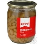 kidney bean Extra! canned 520g glass jar
