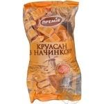 Круасан Премія с начинкой со вкусом шокол и арахис 65г