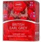Чай черный Премія BritishEarlGray лист с аром.берг 100г