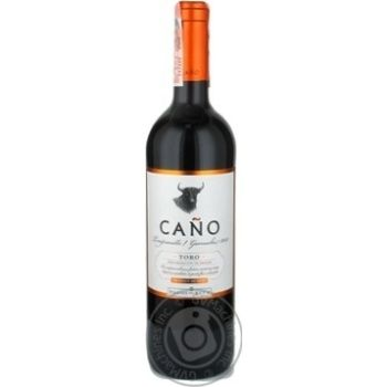Вино Cano Tempranillo-Garnacha Toro DO 0,75л