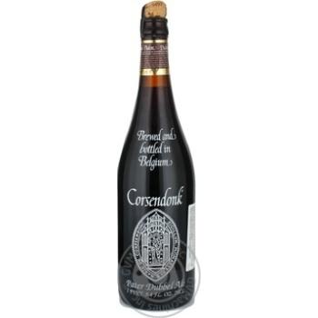 Пиво Корсендонк темное 6.5% 750мл стеклянная бутылка