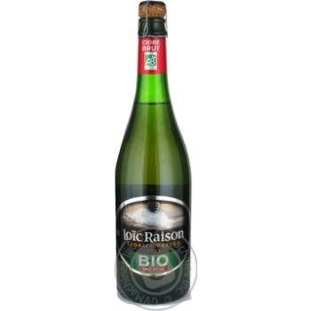 Сидр Лоик раисон 5% 750мл стеклянная бутылка