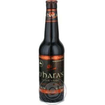 Пиво O'Hara's Irish Stout темне 4,3% 0,3л