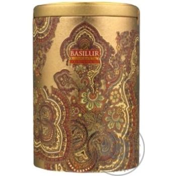 Чай Basilur Золотой месяц черный цейлонский 100г
