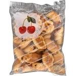 Печиво Рулетики з вишневим джемом Кулиничи 300г