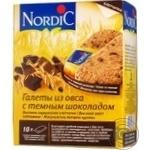 Галеты Nordic из злаков с темным шоколадом 300г