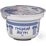 Йогурт натуральный Премія Греческий 10% 150г