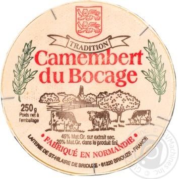 Сыр Fromi Камамбер Бокаж Традисьен 45% 250г