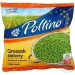 Горошок зелений Poltino с/м п/е 450г