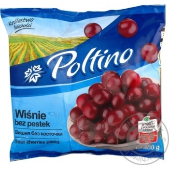 Fruit cherry Poltino pitted 400g - buy, prices for MegaMarket - image 1