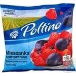 Смесь фруктовая Poltino Компотное ассорти быстрозамороженная 450г