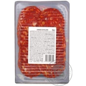 Колбаса Argal Чоризо Кастеллано сыровяленая нарезка 80г - купить, цены на Восторг - фото 2