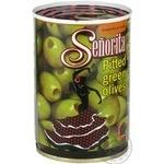olive Senorita green canned 280g