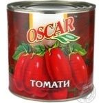 Vegetables tomato Oscar canned 2650ml