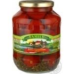 Vegetables tomato Family pickled 1700ml glass jar