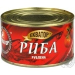 Fish Ekvator №5 in tomato sauce 240g