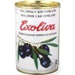 olive Exoliva Extra black with bone 425ml