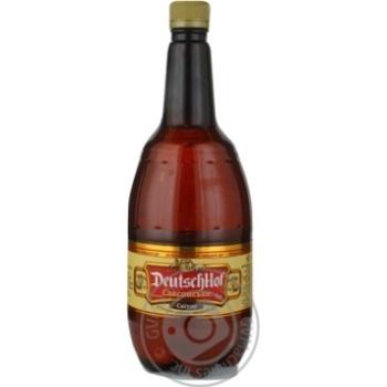 Пиво ДойчХоф Саксонское Светлое 5% 1л