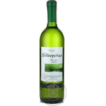 Вино белое сухое 11% 750мл стеклянная бутылка