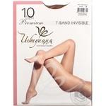 Колготы женские Интуиция T-Band 10 загар р.2 шт