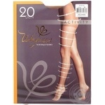 Tights Intuitsia Activity beige for women 20den 2size