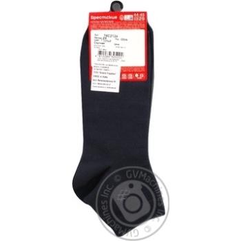 Шкарпетки чол. 2124 classic укорочені р.29 004 т.сірий - купить, цены на Novus - фото 2