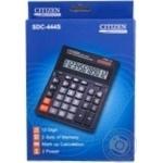 Калькулятор Citizen SDC-444S шт